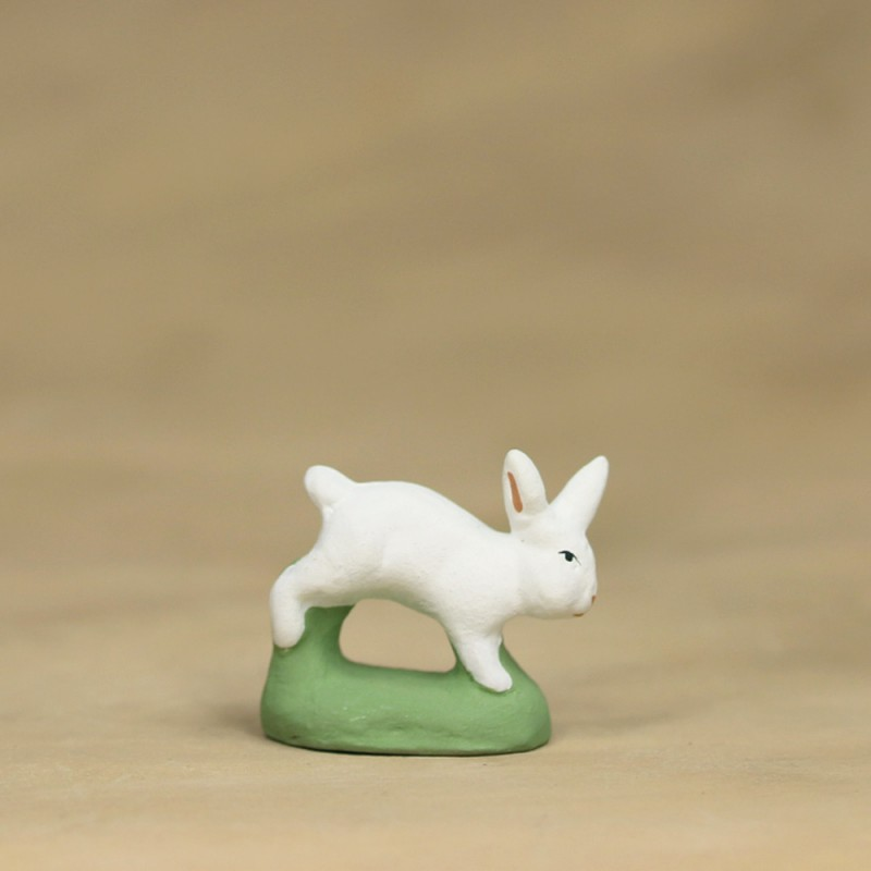 Lapin courant blanc