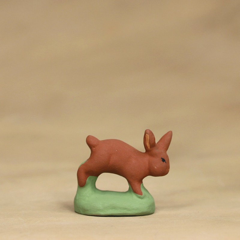 Lapin courant roux